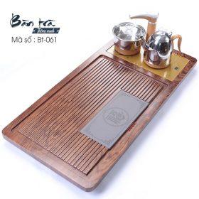 Bàn trà điện thông minh gắn đá BT-061